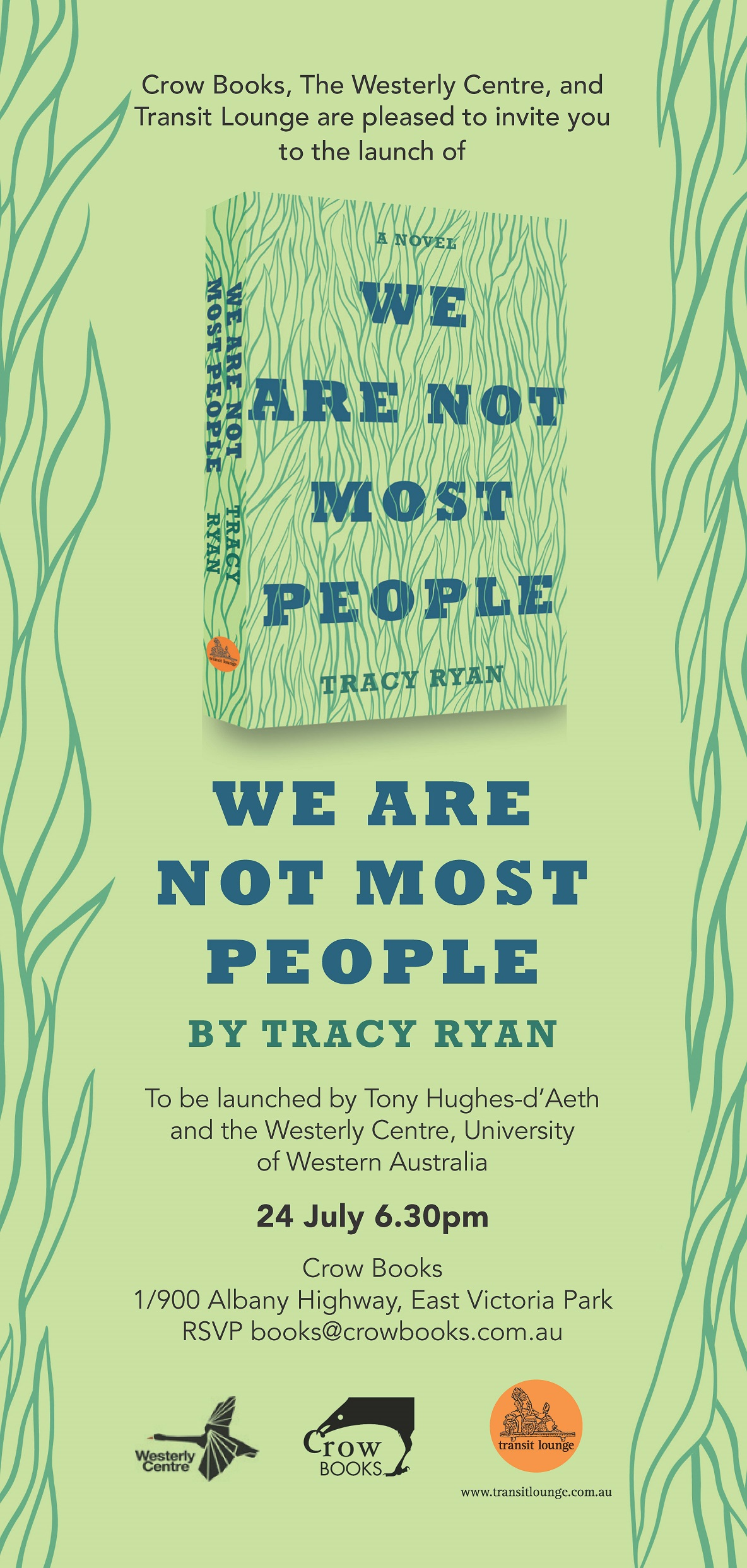 We are not most people_invite